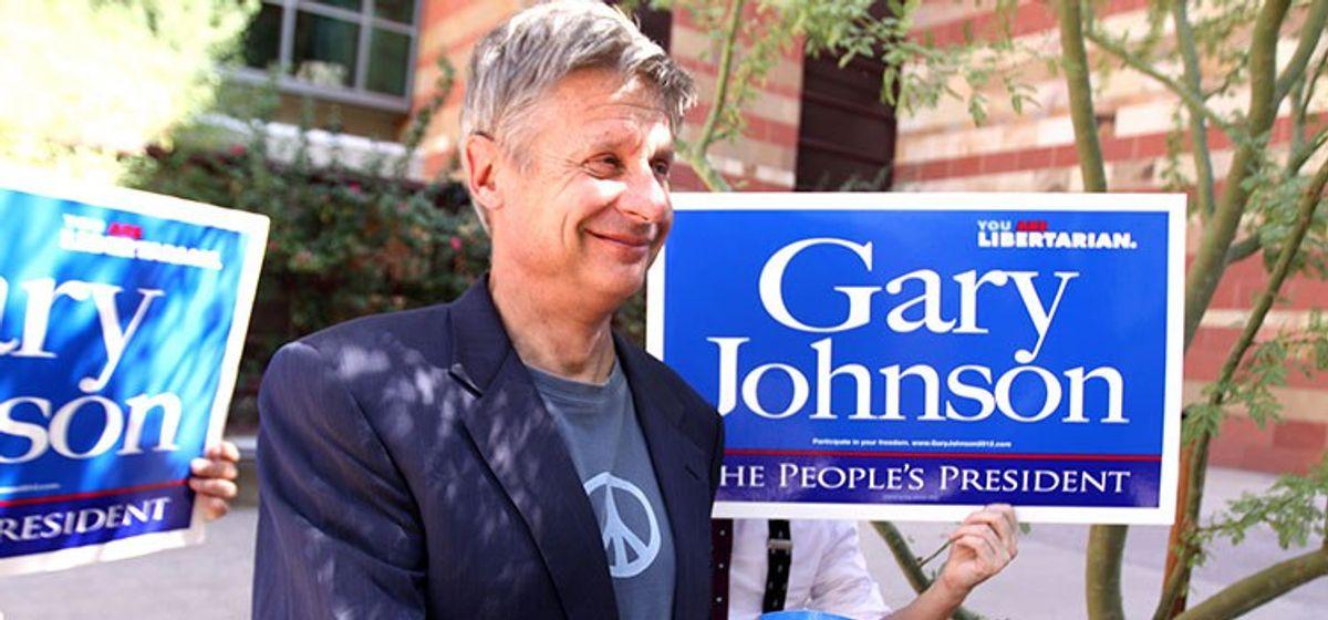 Gary Johnson: Political Fireball