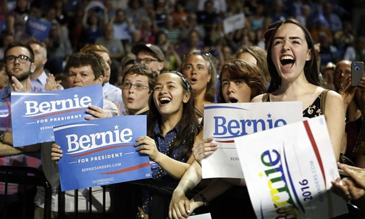 Bernie Sanders And His Controversial Fans
