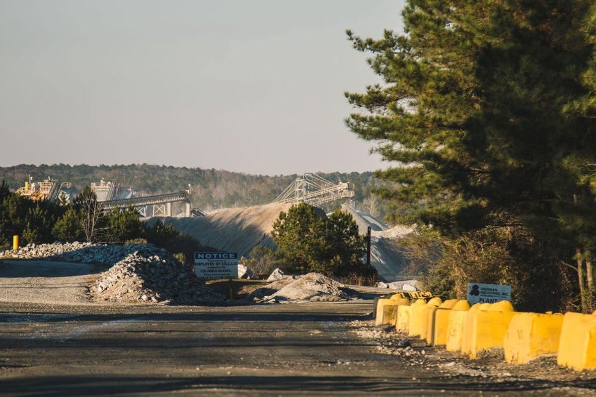 Quarries Are Pouring Pollutants Into Our Air