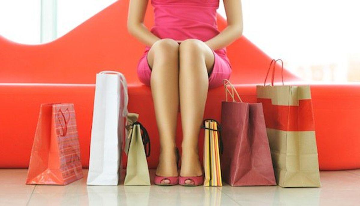 The 10 Struggles of a Shopaholic