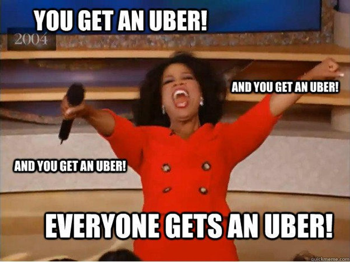 Conversation Starters Everyone Has Used With Their Uber Drivers
