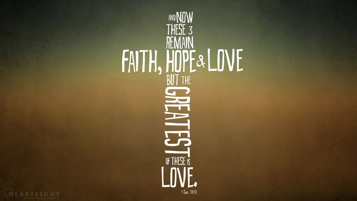 1 Corinthians 13: What Is Love, Exactly?