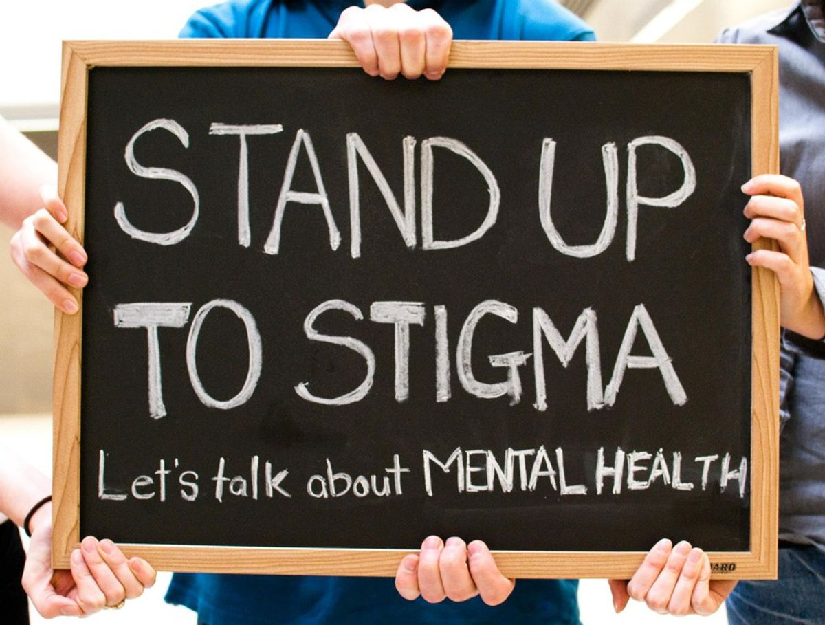 Why We Need To Stop The Mental Health Stigma