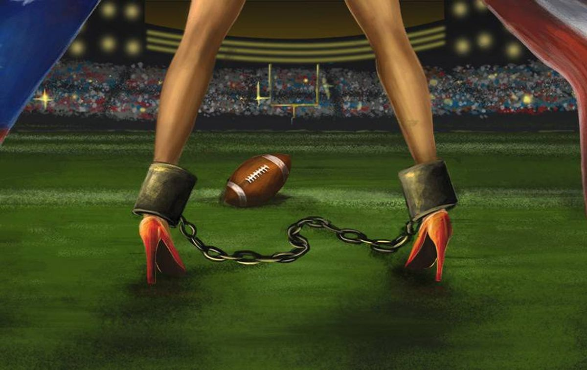 Human Trafficking On Super Bowl Sunday Is No Game