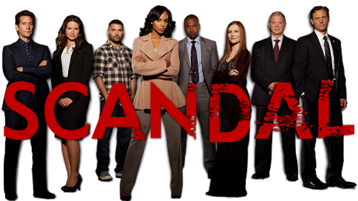 "The Thoughts of A College Student, As Told By ""Scandal"""