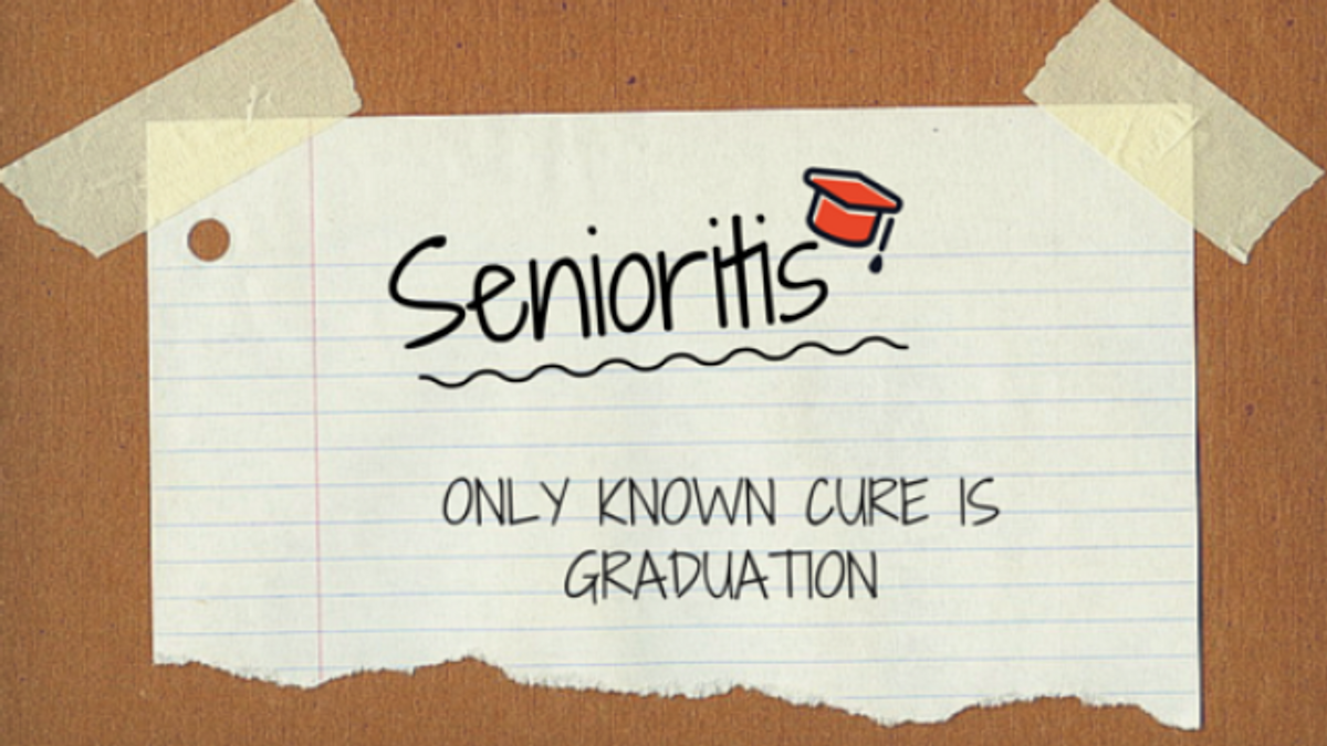 A Second-Semester Senior As Told By GIFs