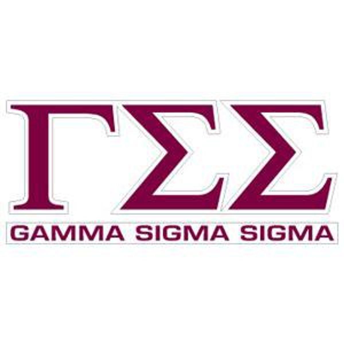 How I Really Miss Gamma Sigma Sigma