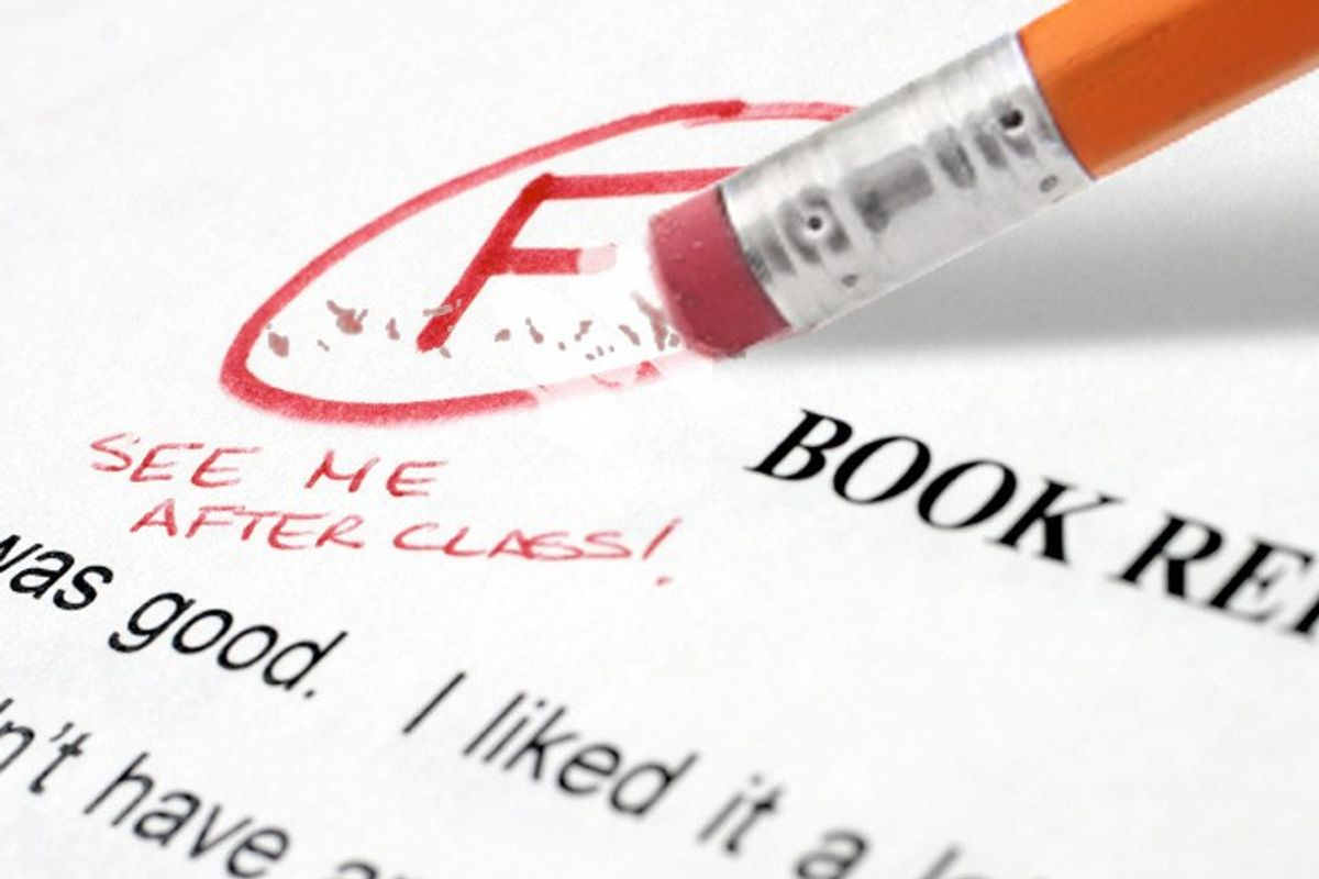 5 Reasons Why Failing A Test Isn't The End Of The World