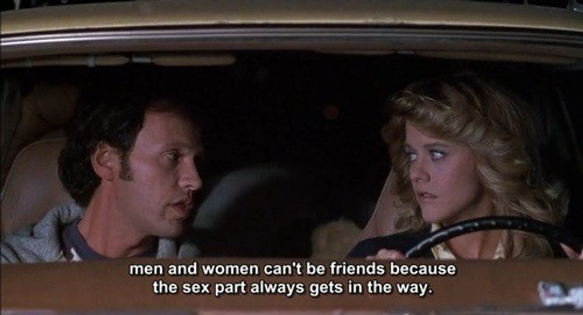 Men And Women Can't Be Friends