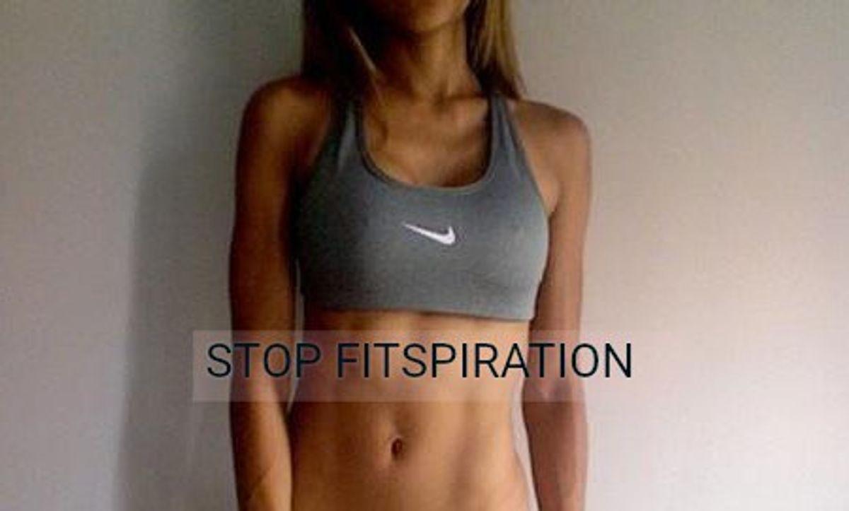 Why We Should Abandon Fitspiration