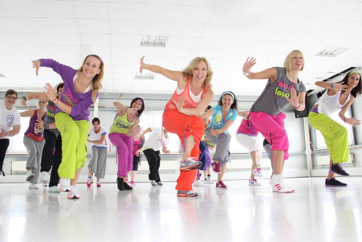 16 Thoughts Of A Zumba Beginner