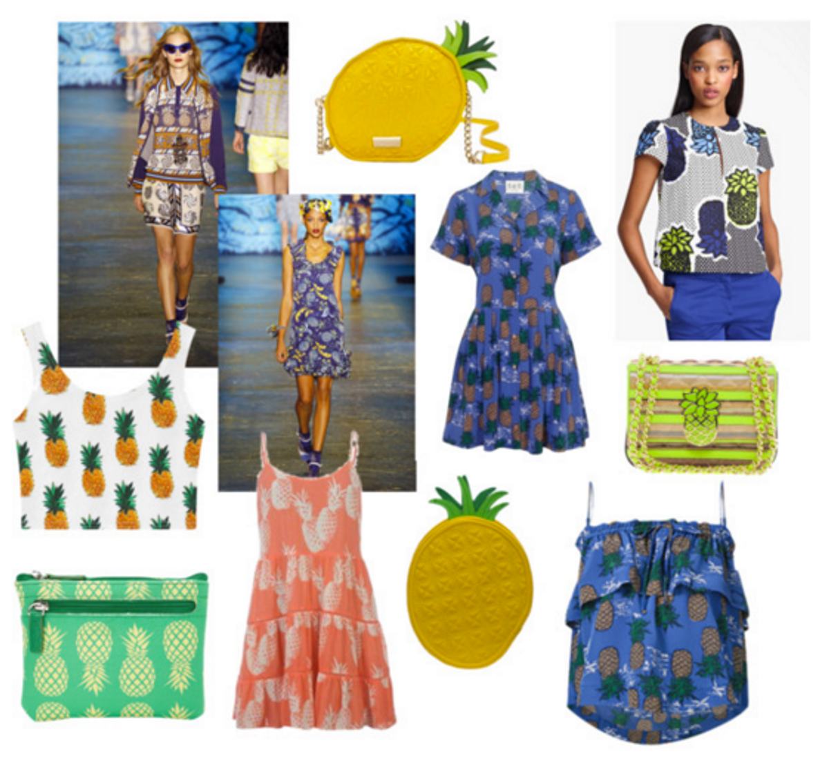 Spring 2016 Trend: the Pineapple Motif