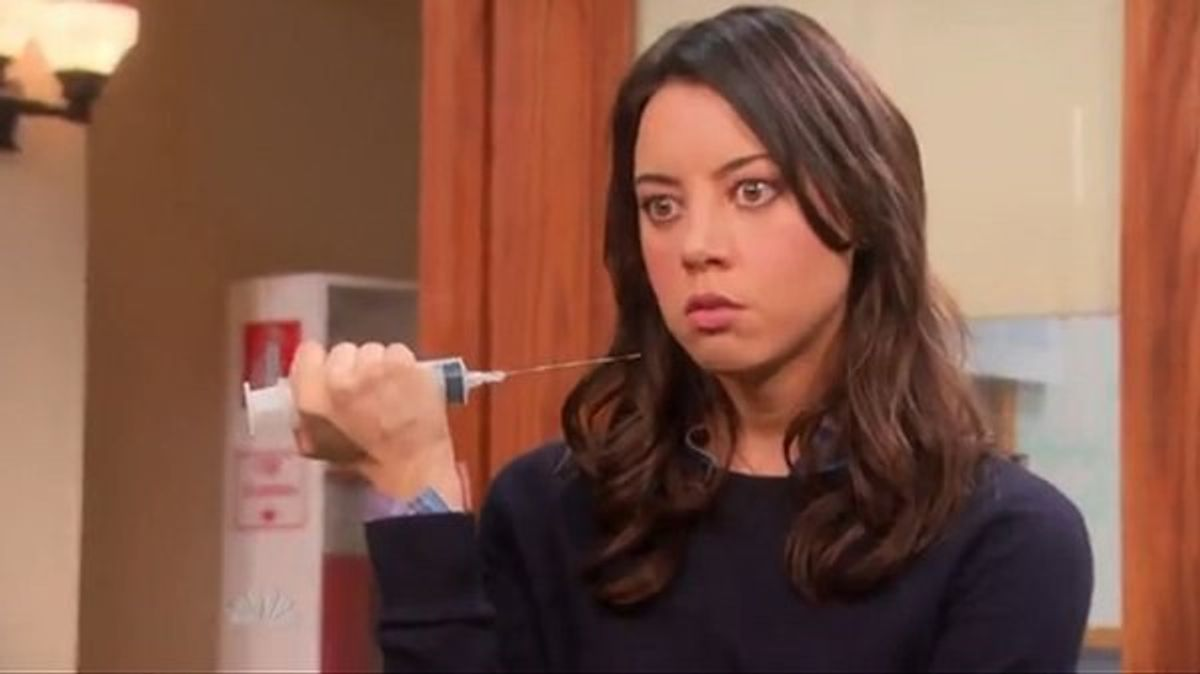 12 Times You Were April Ludgate From Parks & Rec In College