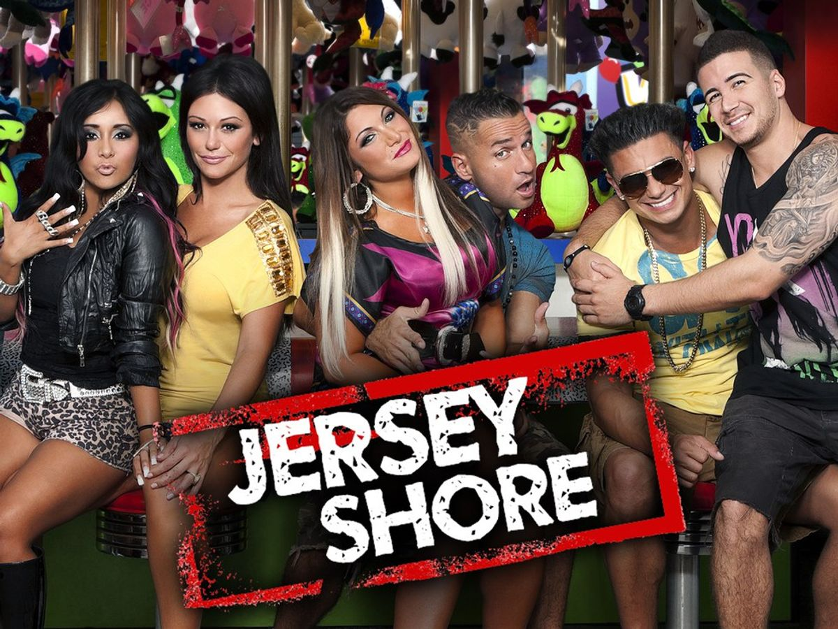 """Sorority Formal Recruitment As Told By """"Jersey Shore"""""""