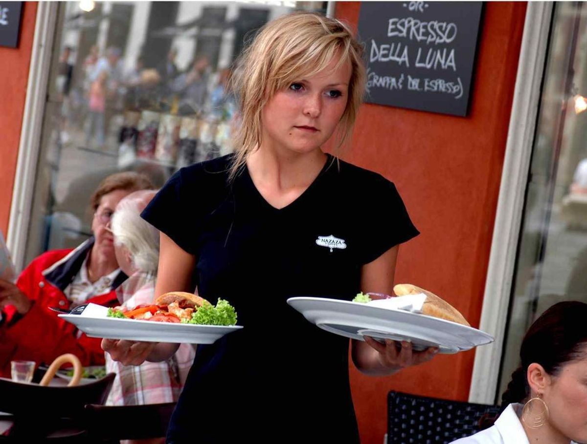 The Mind Of A Waitress