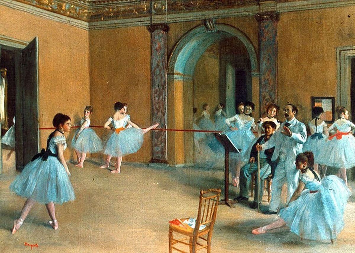 Lessons Learned At The Barre