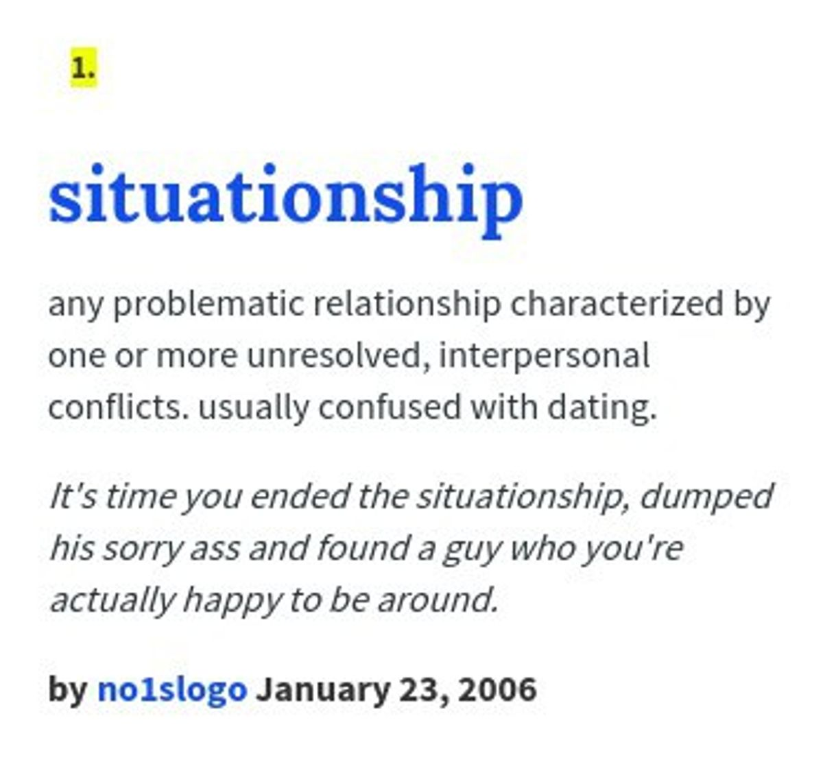 The Truth About Situationships