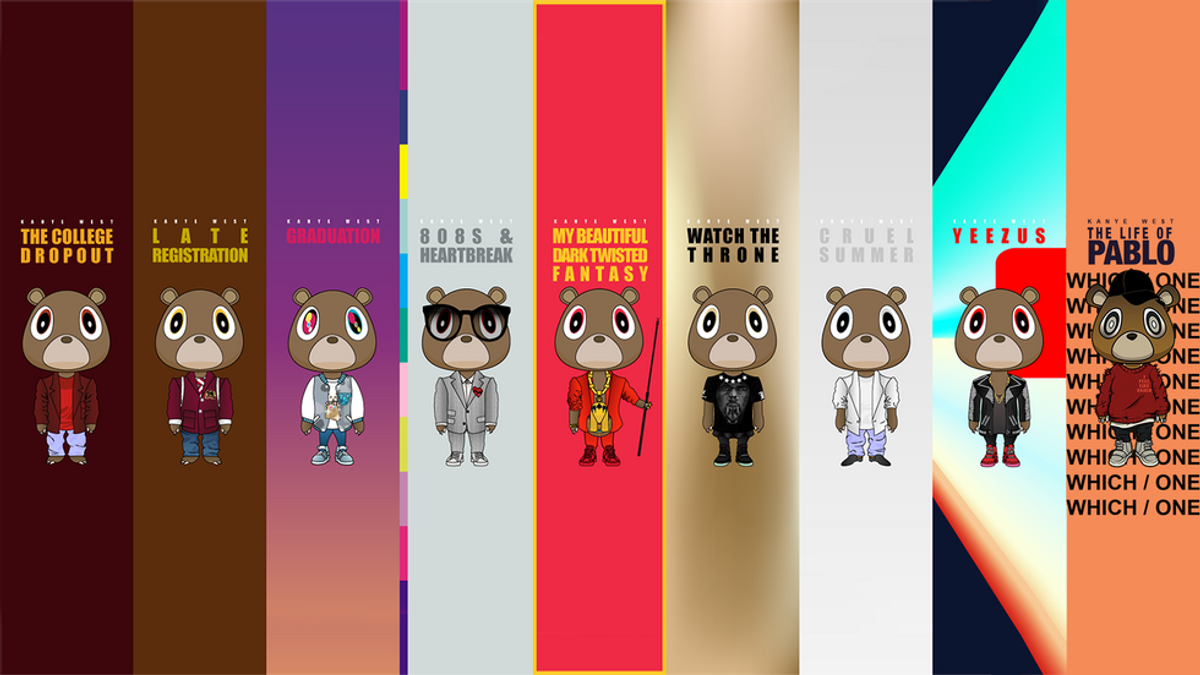 A History and Ranking of Kanye's Discography