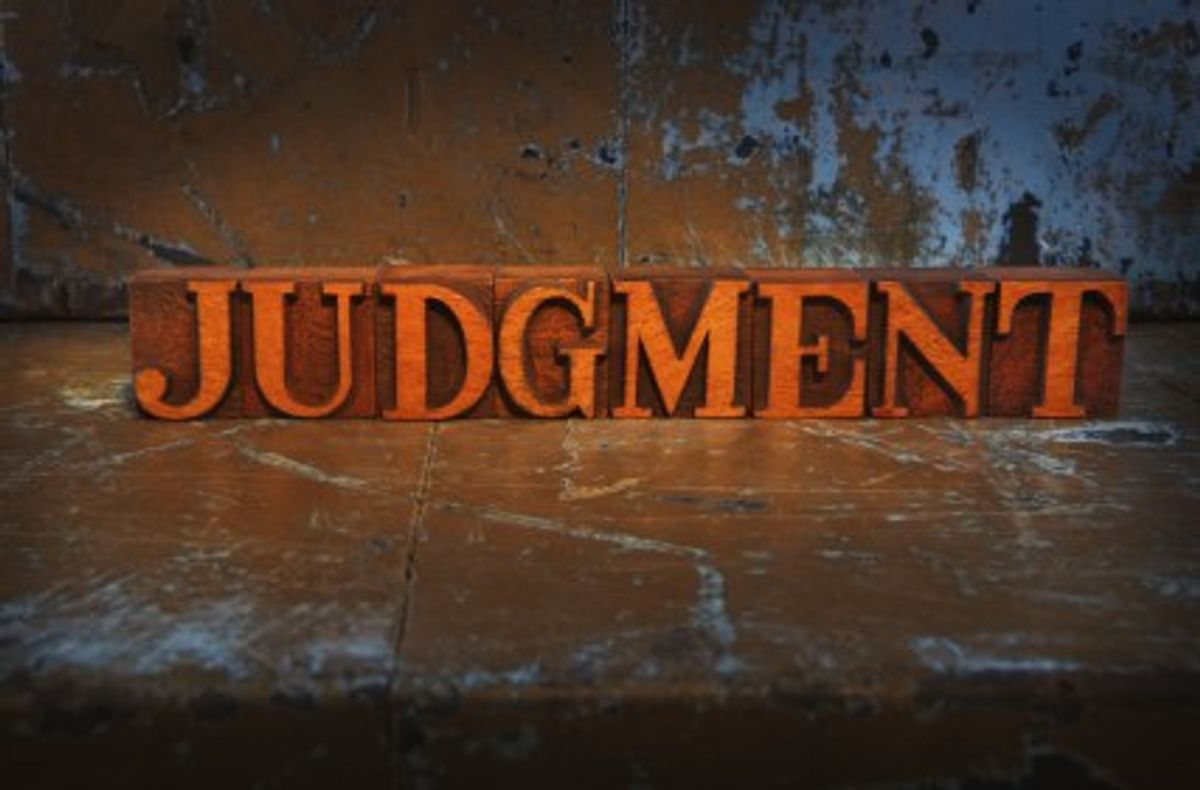 A Letter To The Person Who Struggles With Judgment
