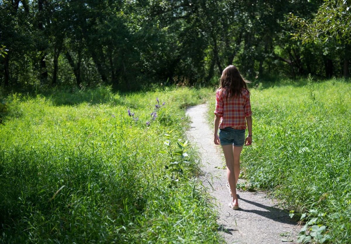An Open Letter To The Girl Who Can't Walk Away