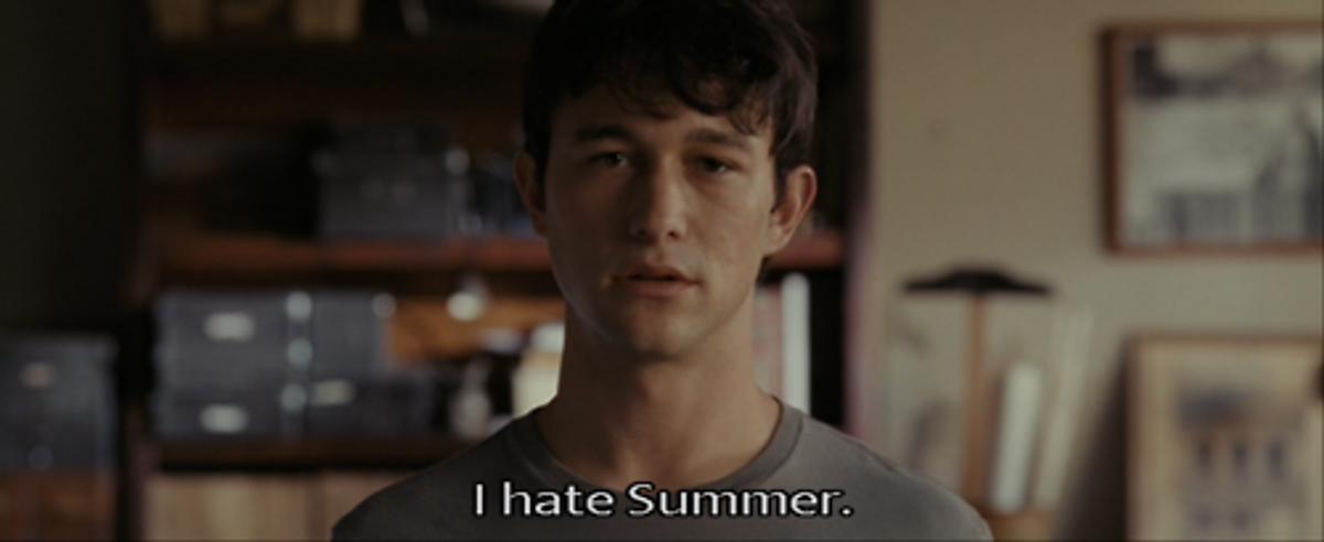Reasons I Hate Summer