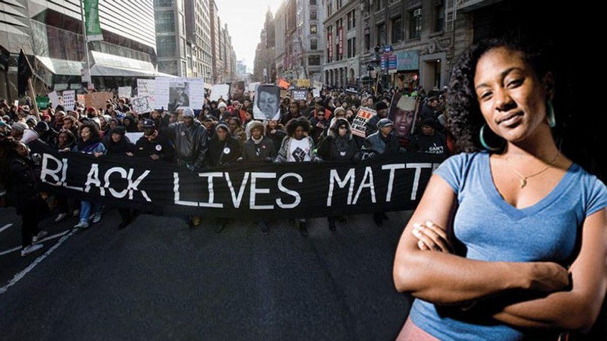 'Black Lives Matter Began As A Love Letter To Black People'