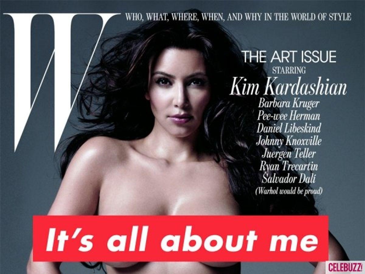 Why Kim Kardashian Is Ruining The Image Of Self-Worth