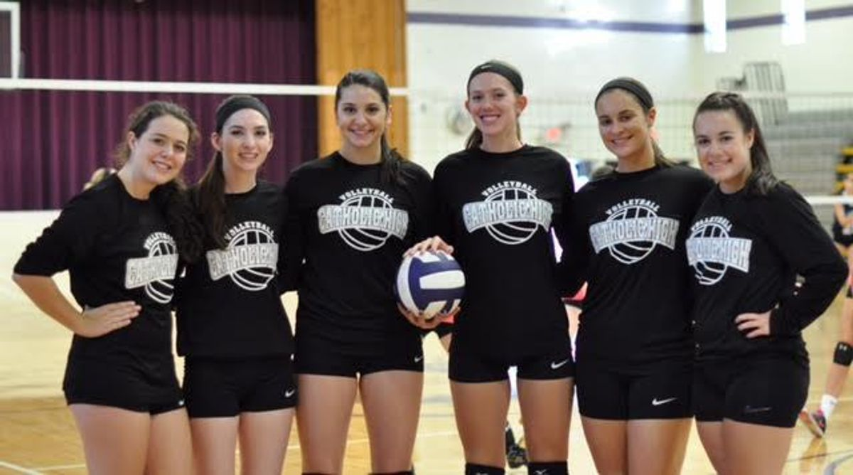 How Playing Volleyball Changed My Life