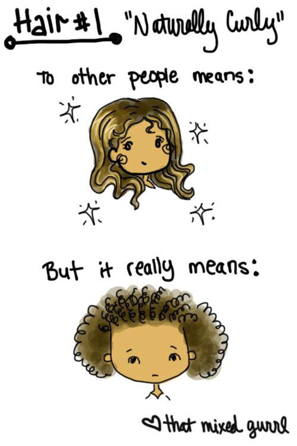 Five Things People With Curly Hair Hear On A Daily Basis