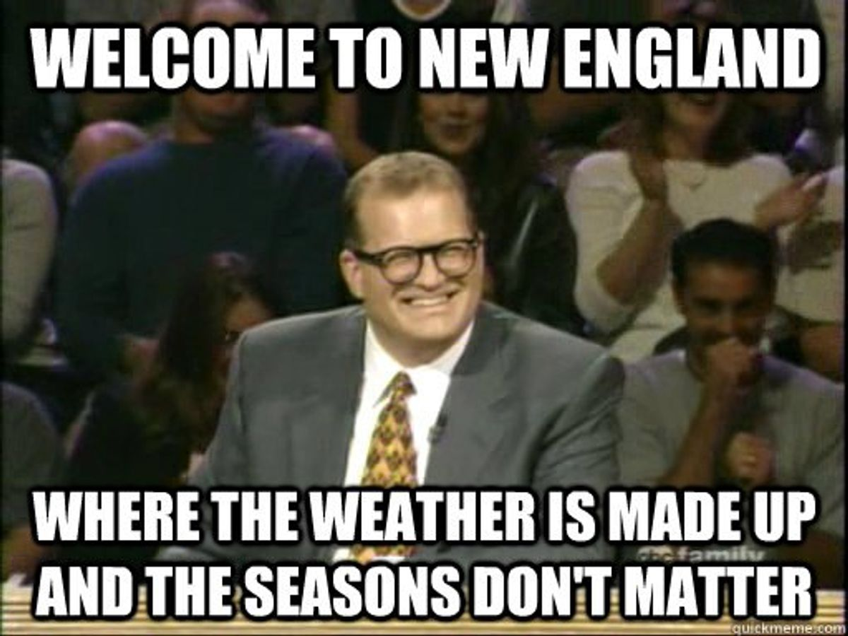 The Love/Hate Relationship Of New England Weather