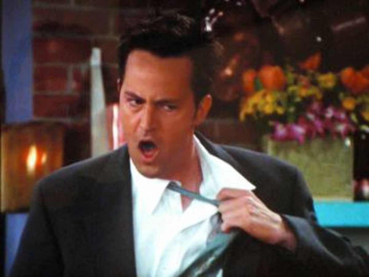 The 10 Stages Of Registering For Classes As Told By Chandler Bing