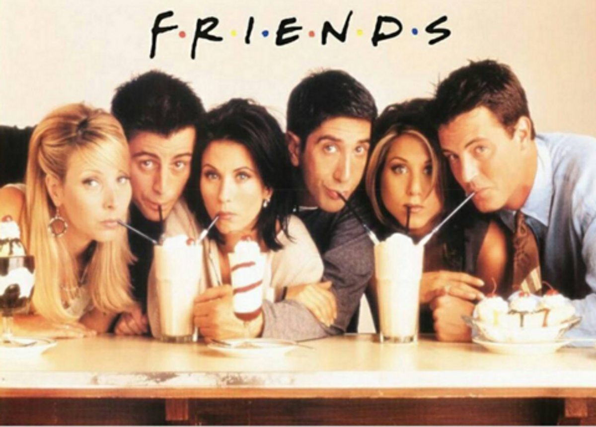 """The Plague Of Whiteness In """"Friends"""""""