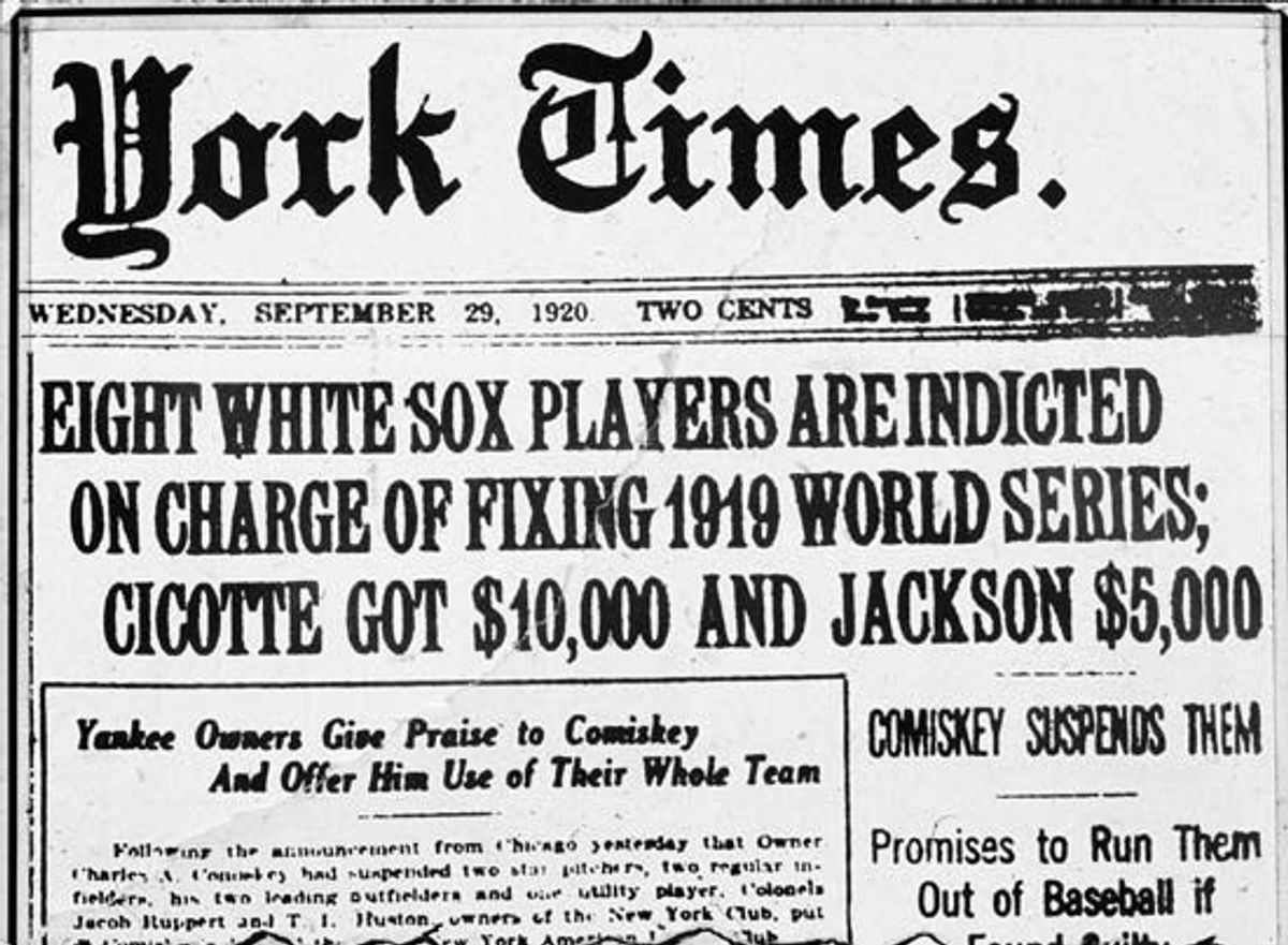 Is Scandal Good For Baseball?