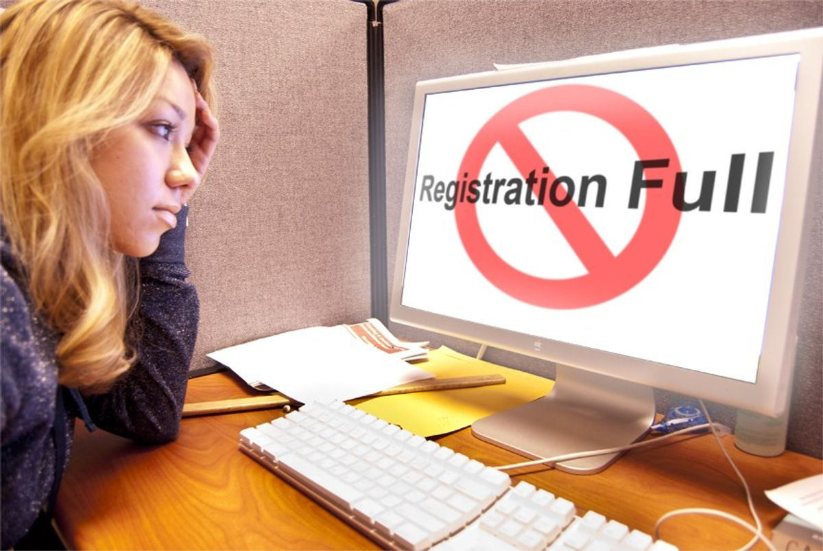 Registering For Classes: The Unfairness In It All