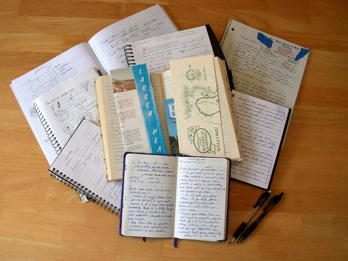 The ABC's Of Keeping A Journal