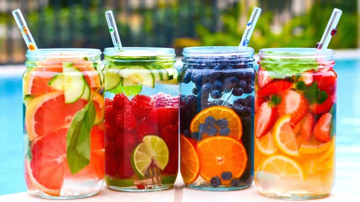 Benefits Of Fruit-Infused Water
