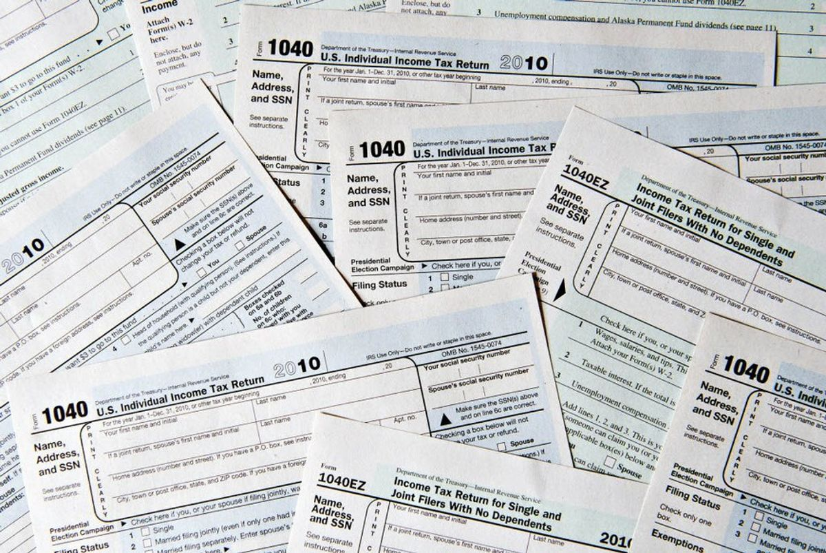 6 Stages Of Filing Taxes: International Students' Edition
