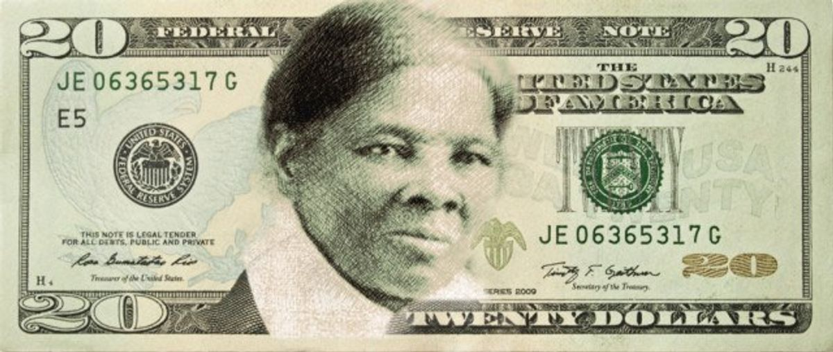 Harriet Tubman Takes The $20 Bill By Storm