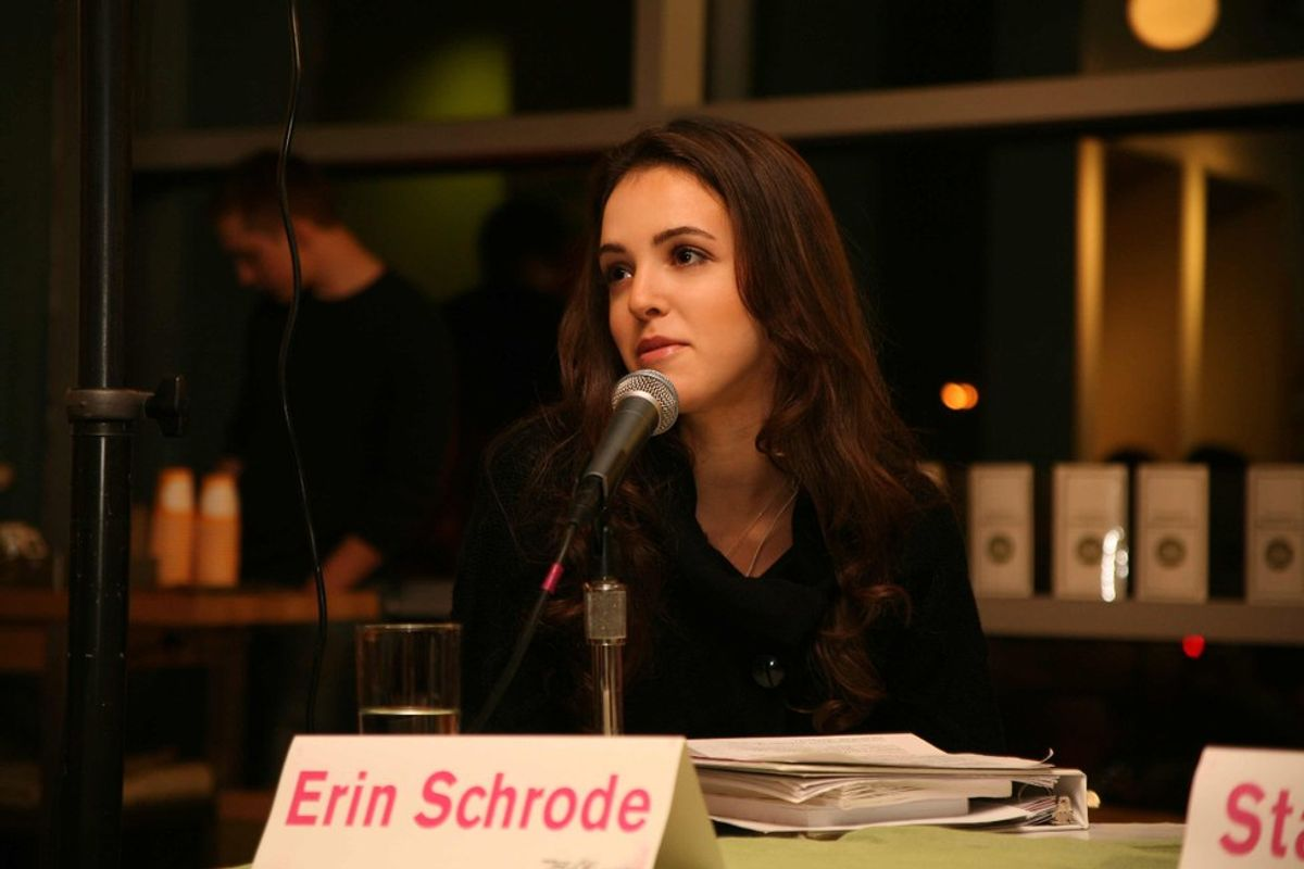 24-Year-Old Erin Schrode Running For Congress