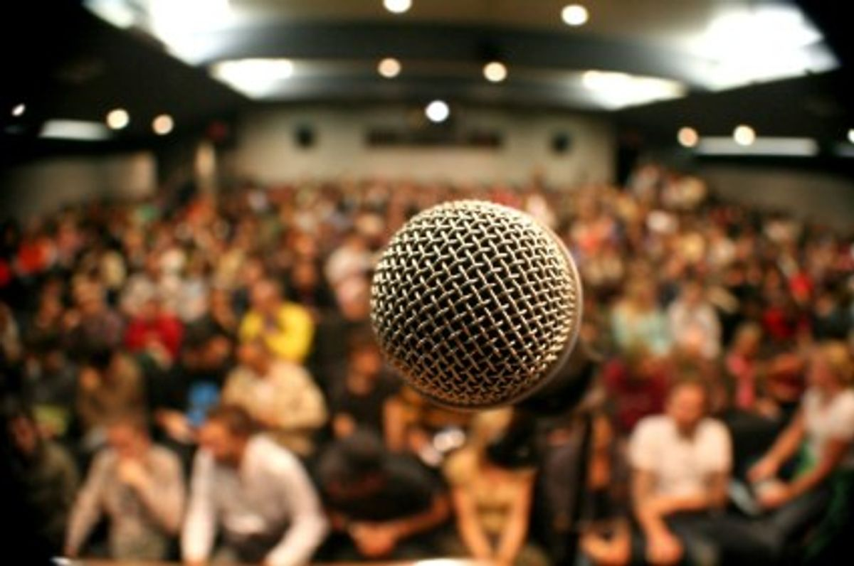 Public Speaking Is Worse Than Death