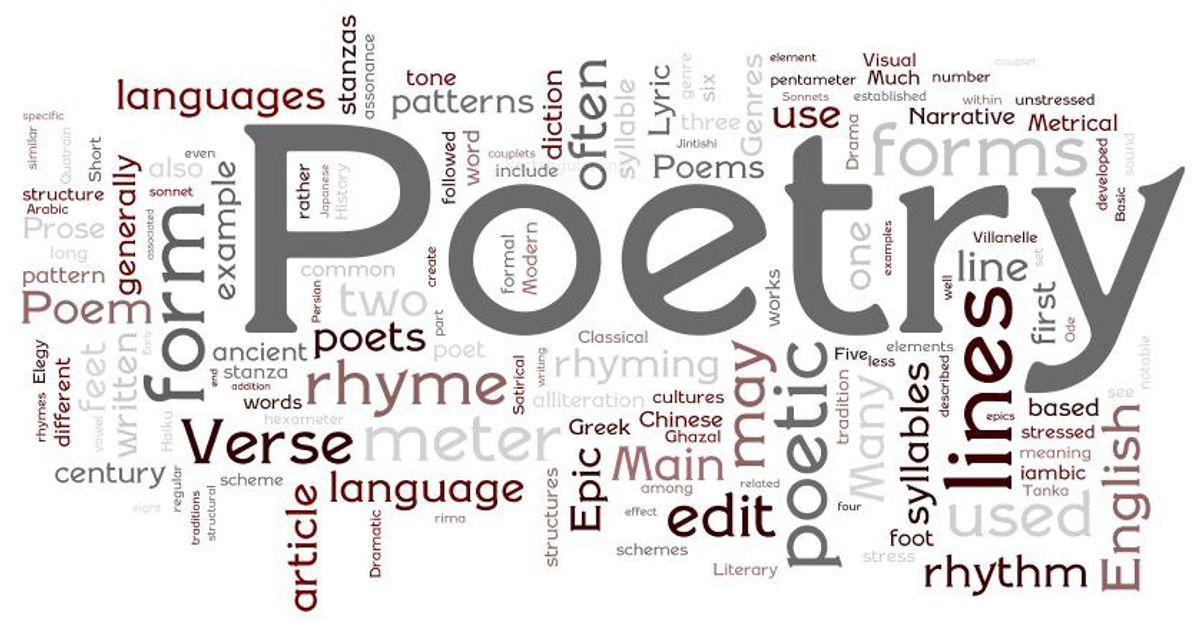 Why Poetry Is Cool