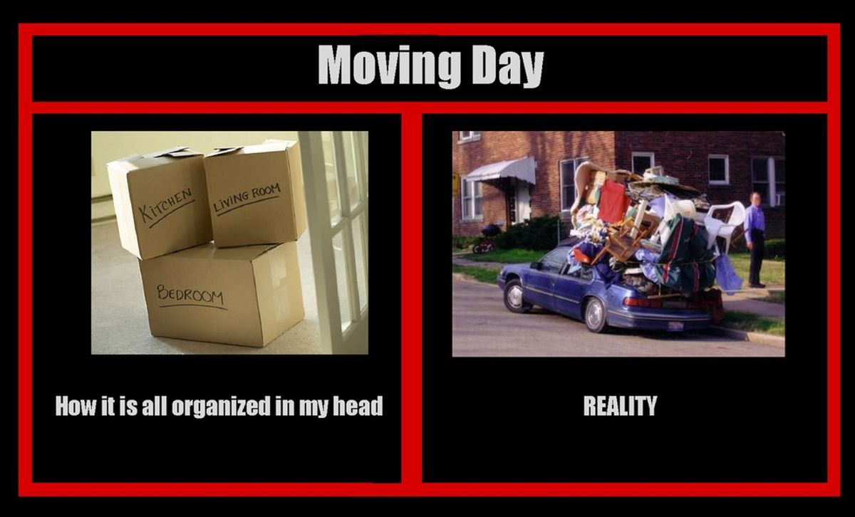 The 5 Stages Of Moving