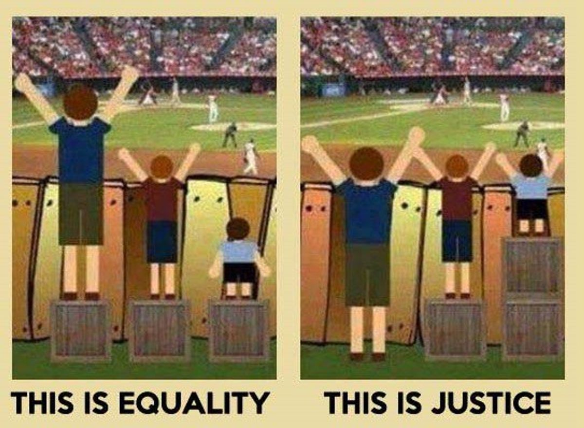 If You're Fighting For Equality, You're Wrong, And Here Is Why