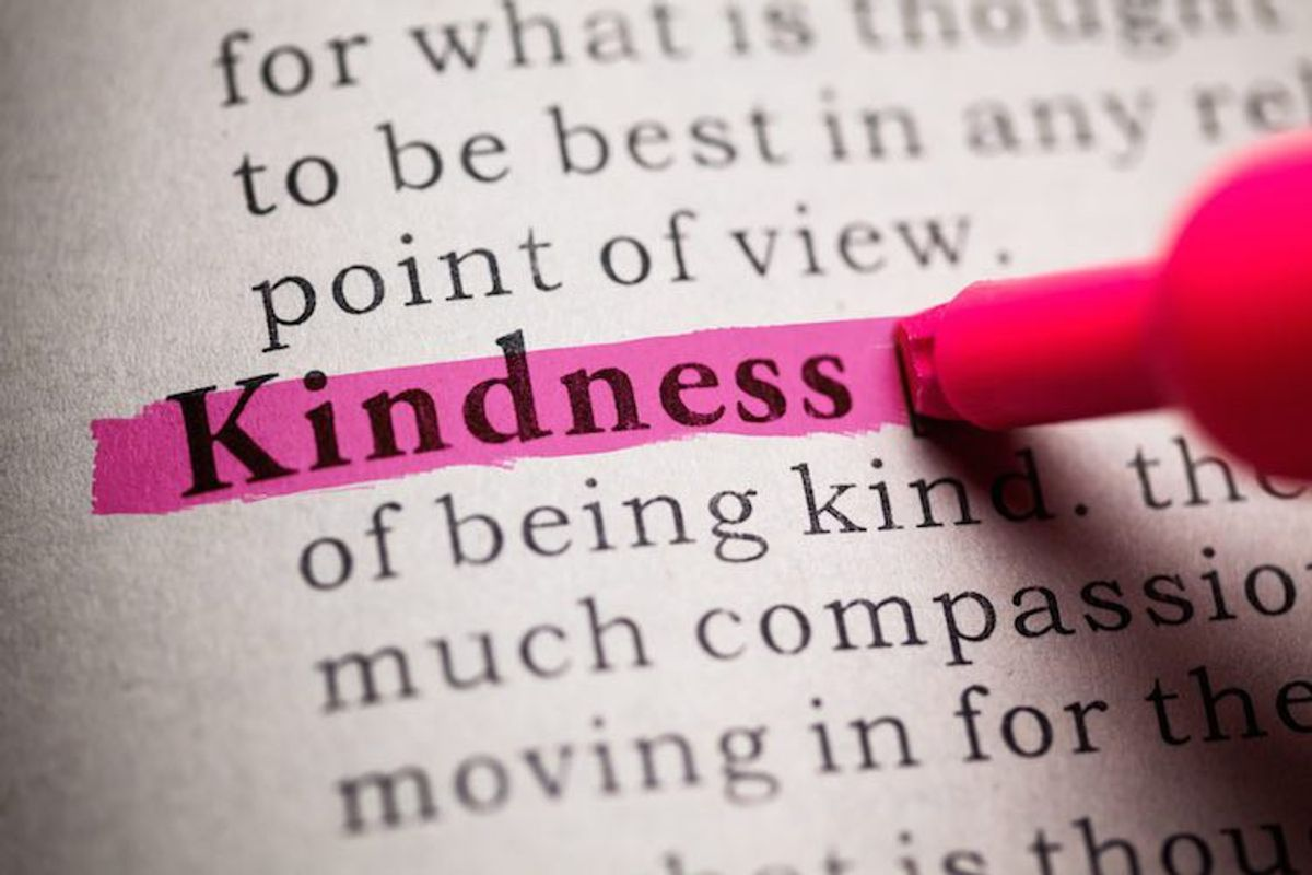 The Importance Of Being Kind