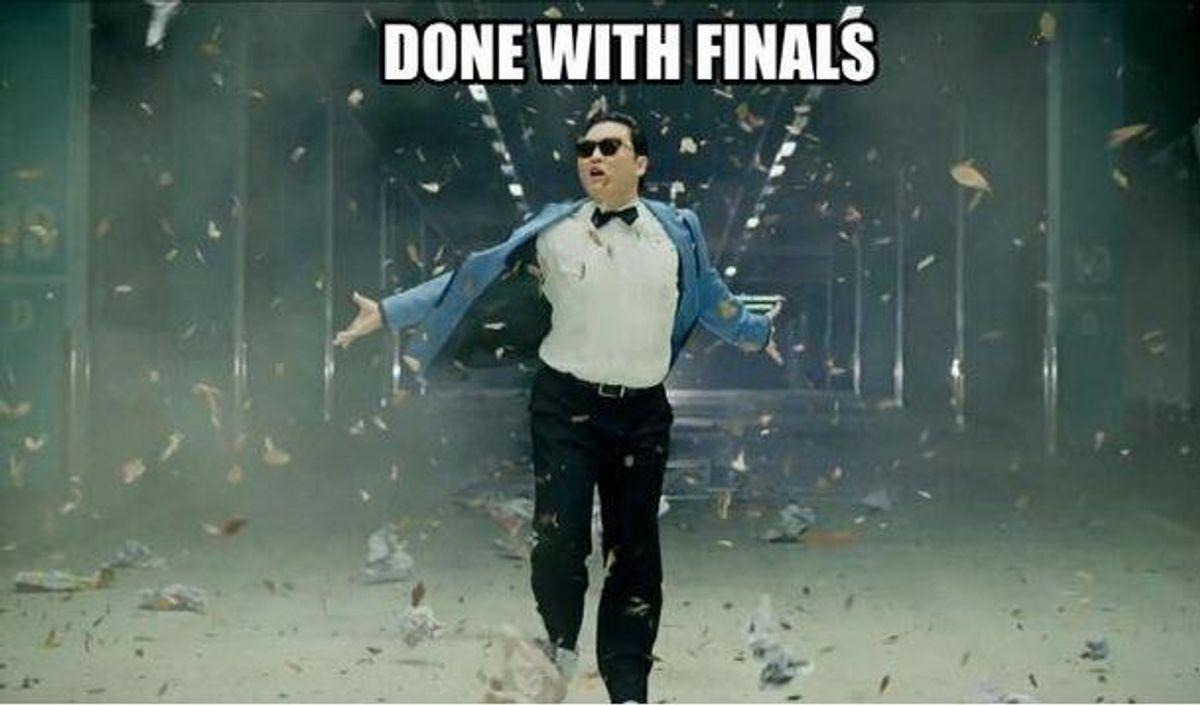 The Sudden Relief After Finals Week