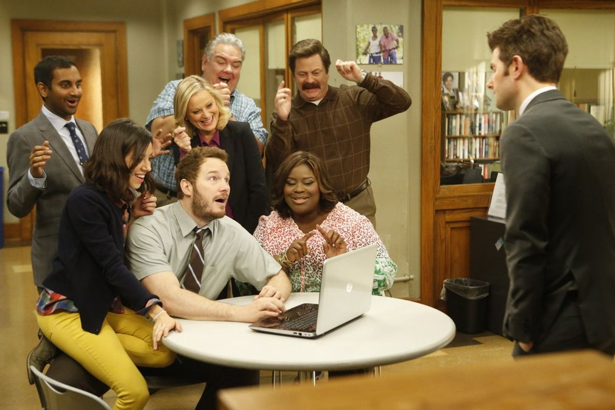 """Finals Week Accurately Told By """"Parks & Rec"""""""