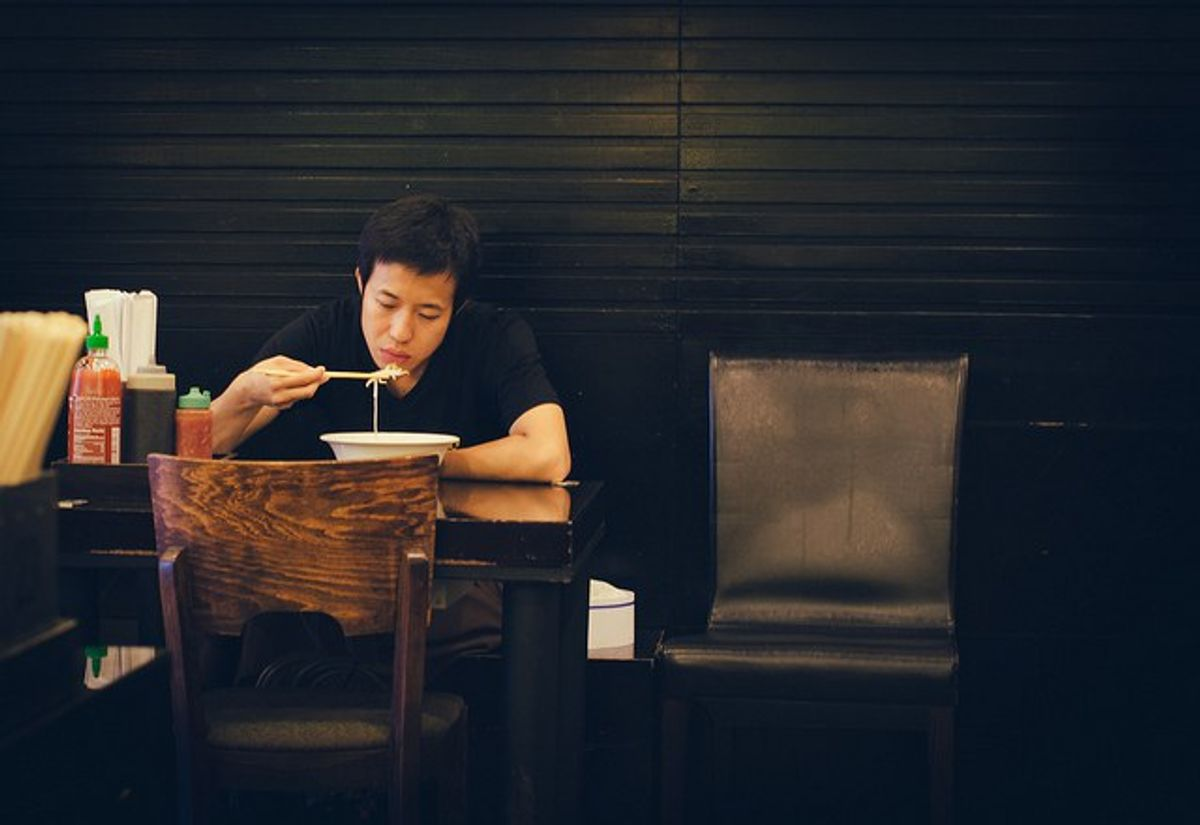 Eating Alone: The Most Irrational Fear
