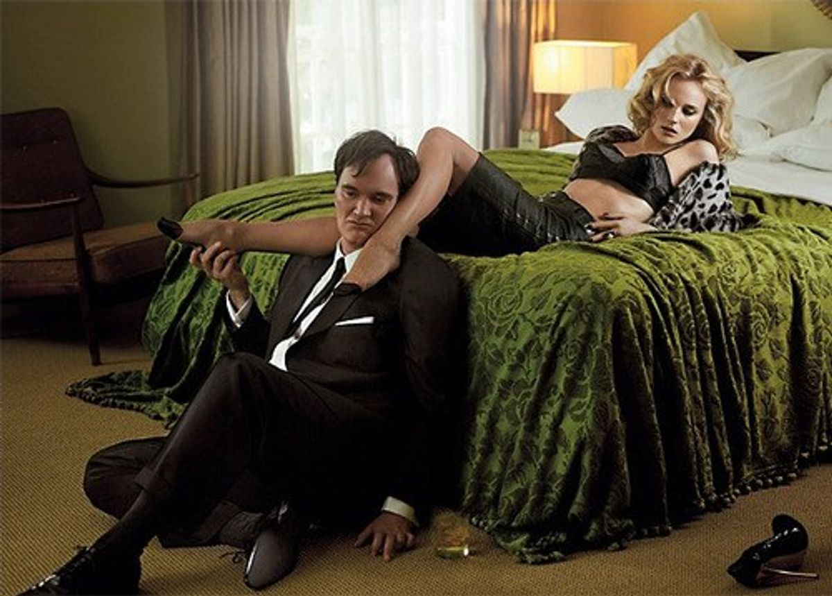 Quentin Tarantino Has A Foot Fetish