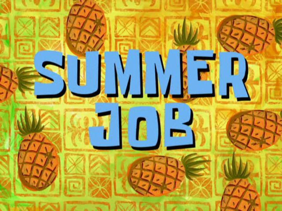 Looking For Summer Jobs