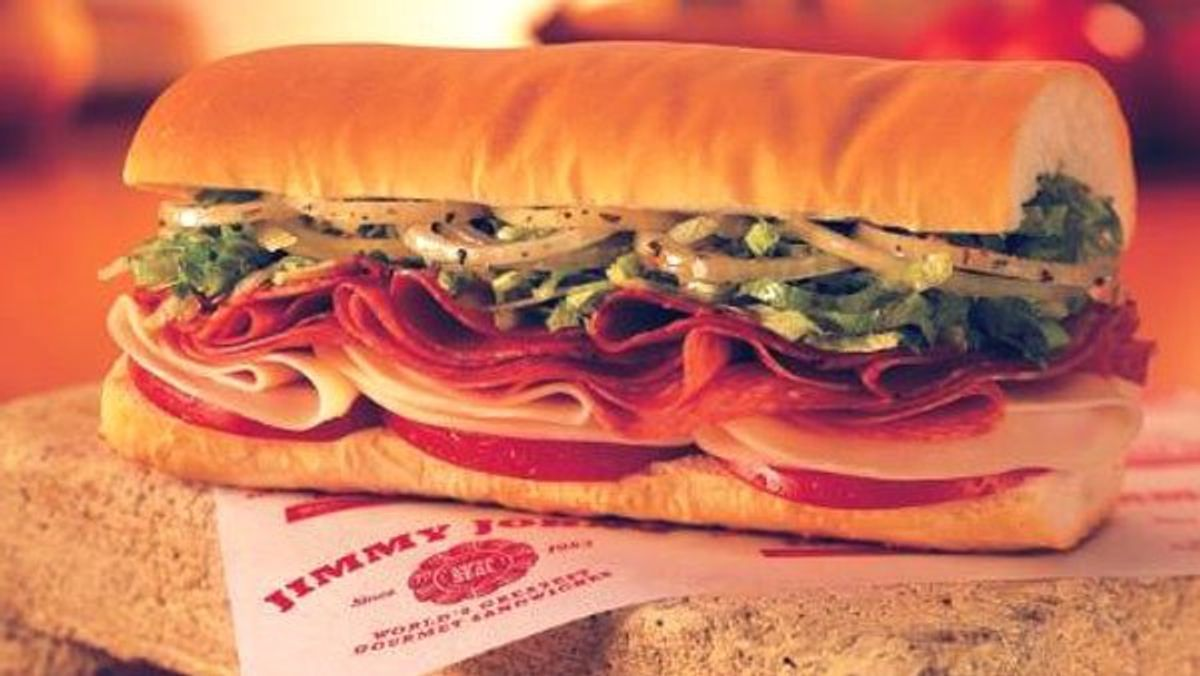 Power Ranking The 7 Sub Sandwiches At Jimmy John's